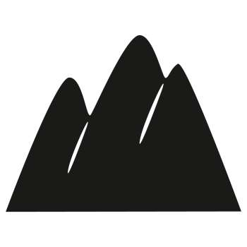 Naklejka tablicowa Mountains