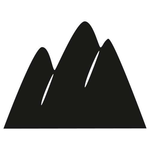 Tafelaufkleber Mountains