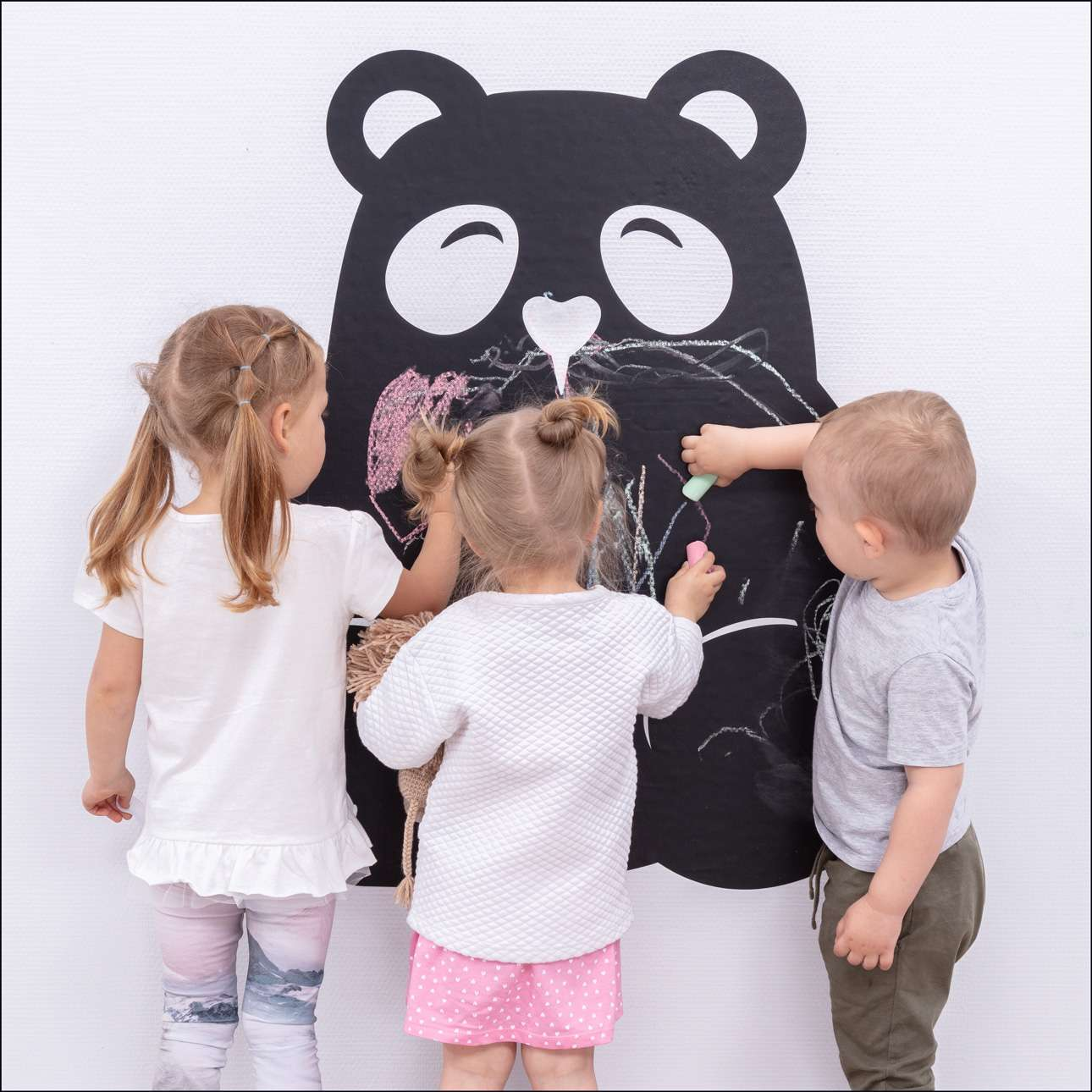 Tabulová samolepka Panda