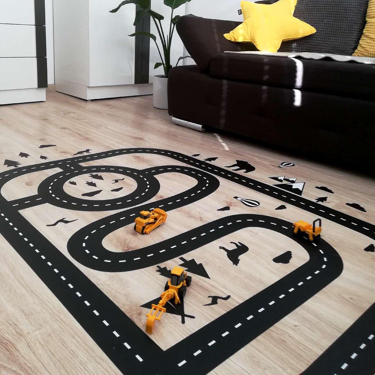 Forest Track floor sticker