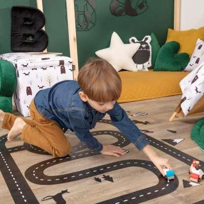 Forest Track grindų lipdukas