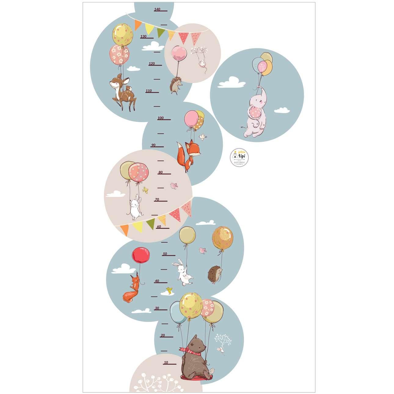 Bubble Dreams measure sticker