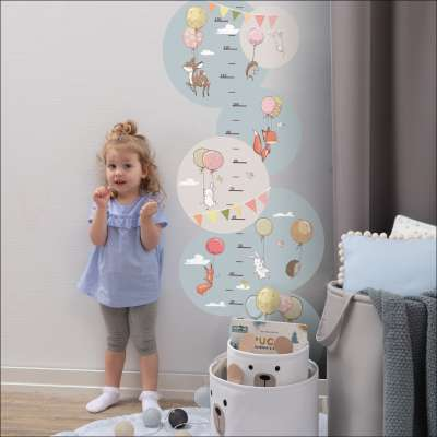 Bubble Dreams measure sticker