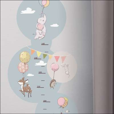 Bubble Dreams ūgio matuoklis - lipdukas