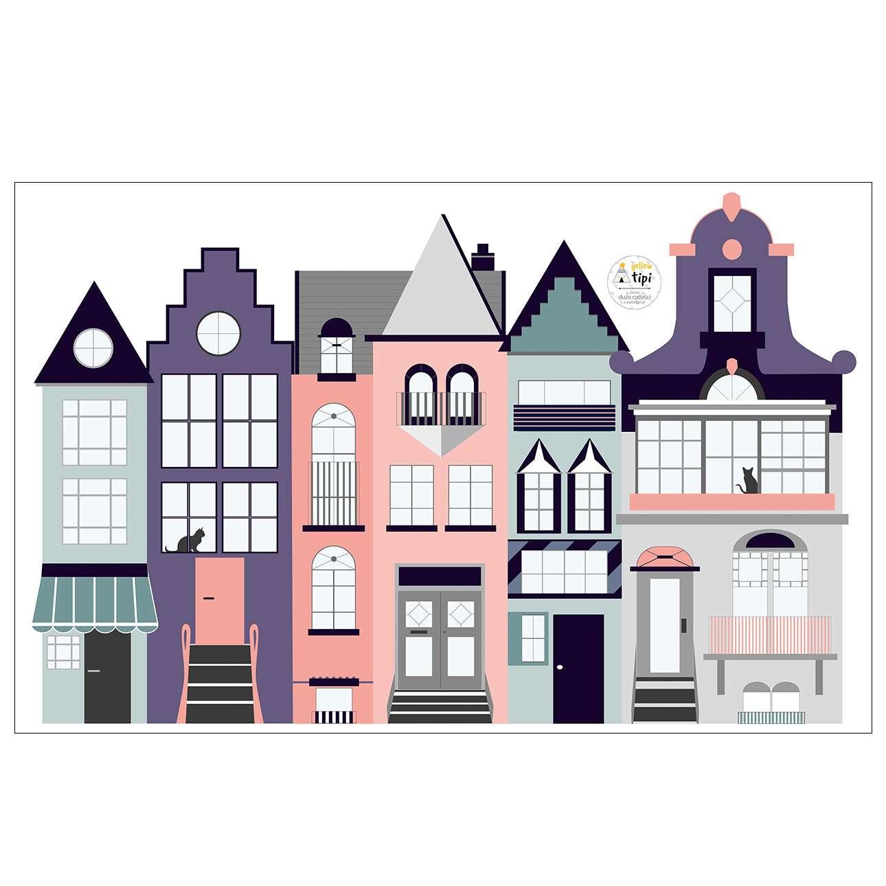 Houses I sticker