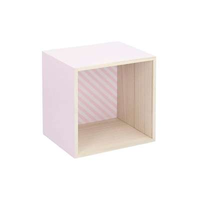 Polička Box pink 22 cm