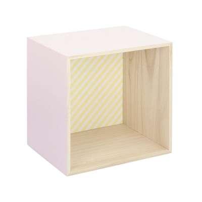 Polička Box pink 28 cm Police - Yellowtipi.cz