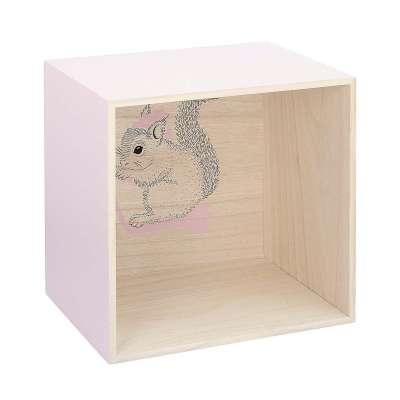 Polička Box pink 31 cm Nábytek - Yellowtipi.cz