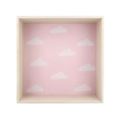 Box pink shelf 35cm
