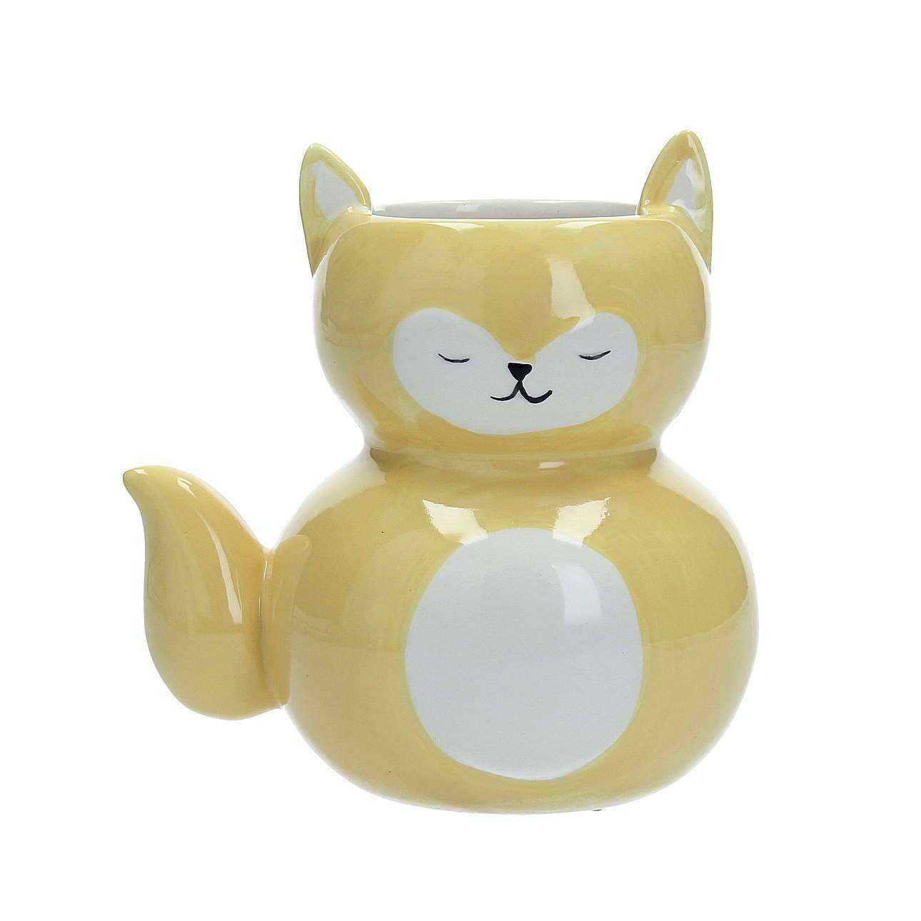 Yellow cat krepšelis