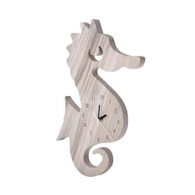 Seahorse clock Clocks - Yellowtipi.uk