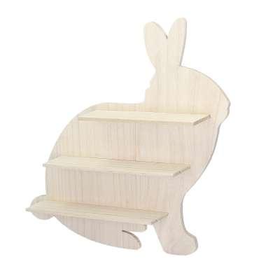 Wooden Rabbit shelf