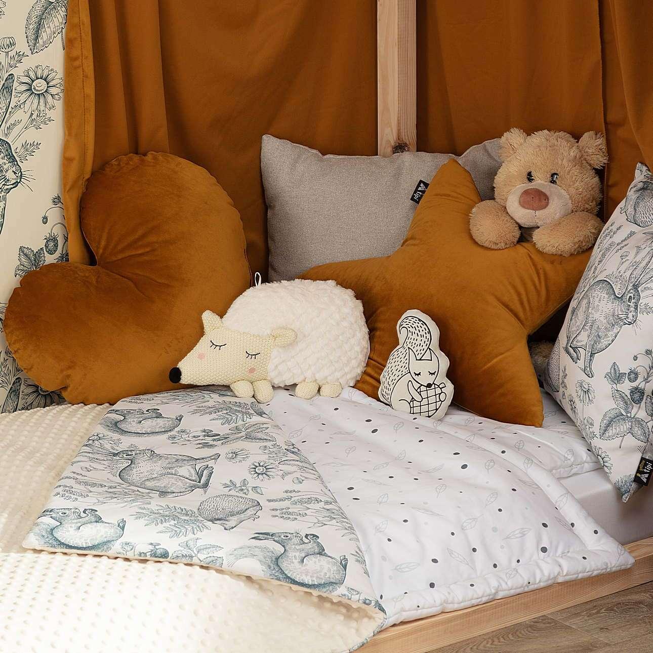 Hedgehog cuddle pillow