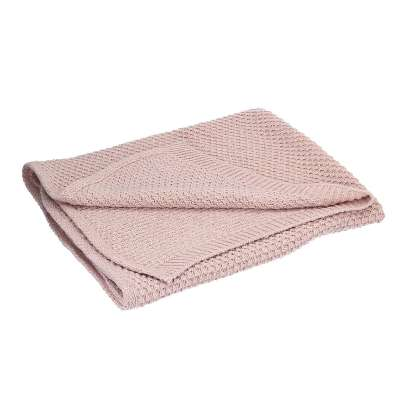 Kuscheldecke Wooly pink