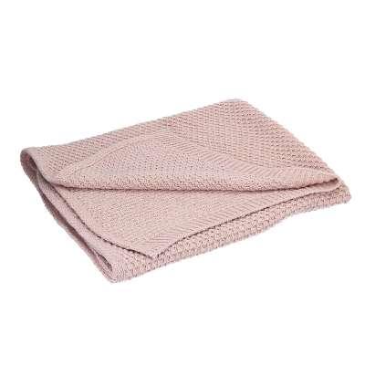 Woolly pink rug