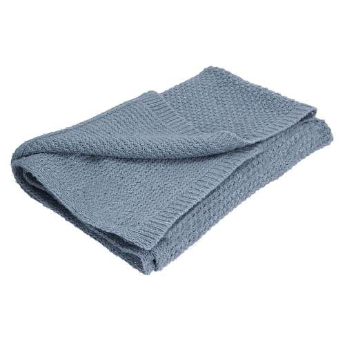 Kuscheldecke Wooly gray