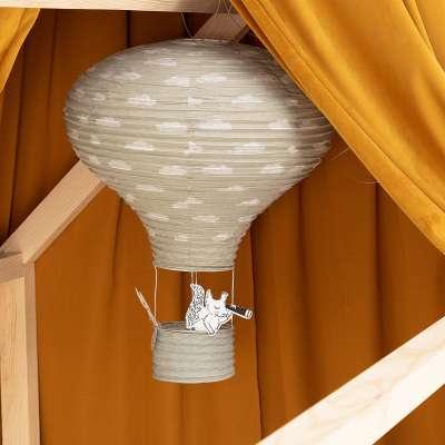 Balloon grey hanging decoration