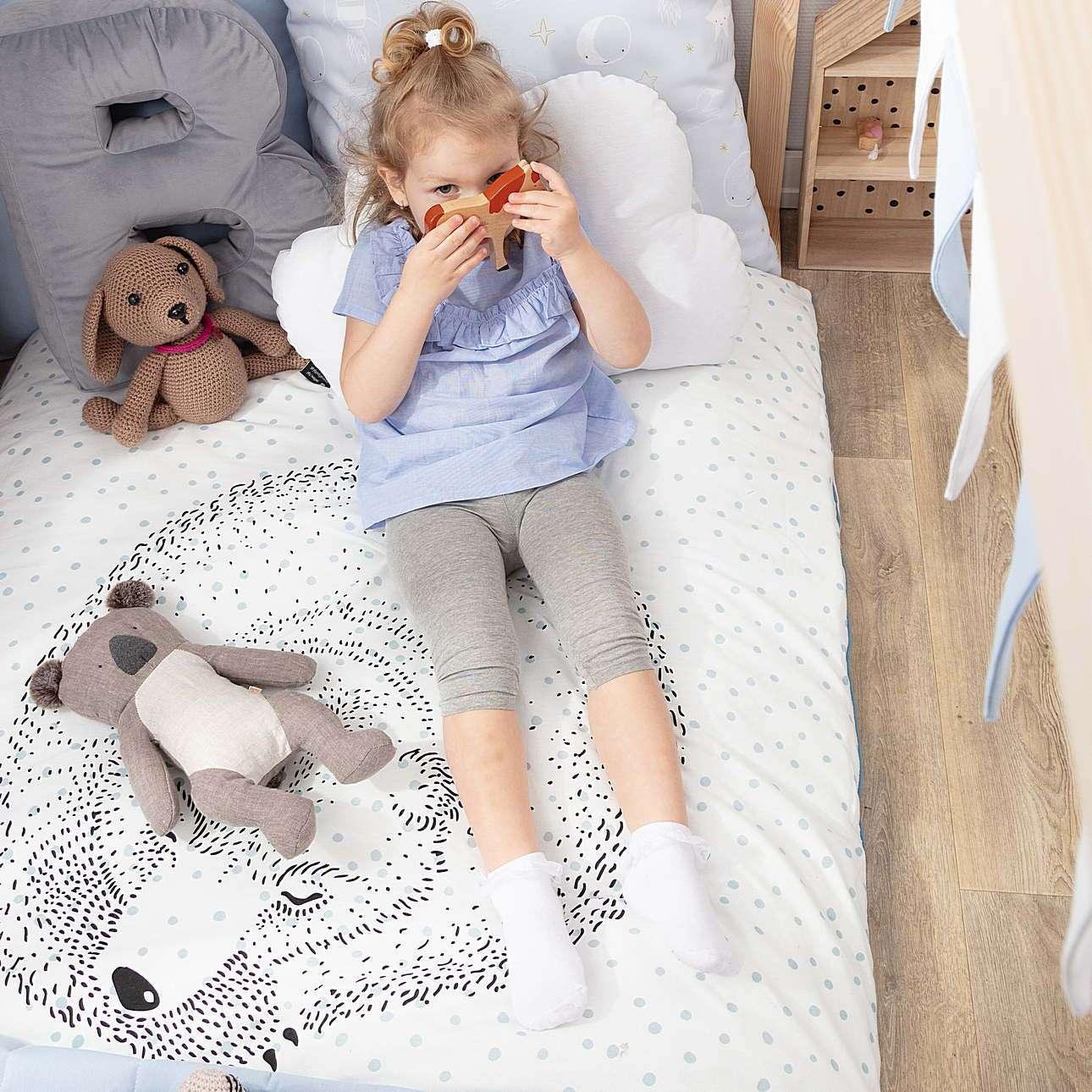 Bettwäsche Sleeping Bear 100x140cm
