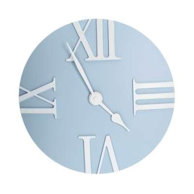 Uhr Retro light blue