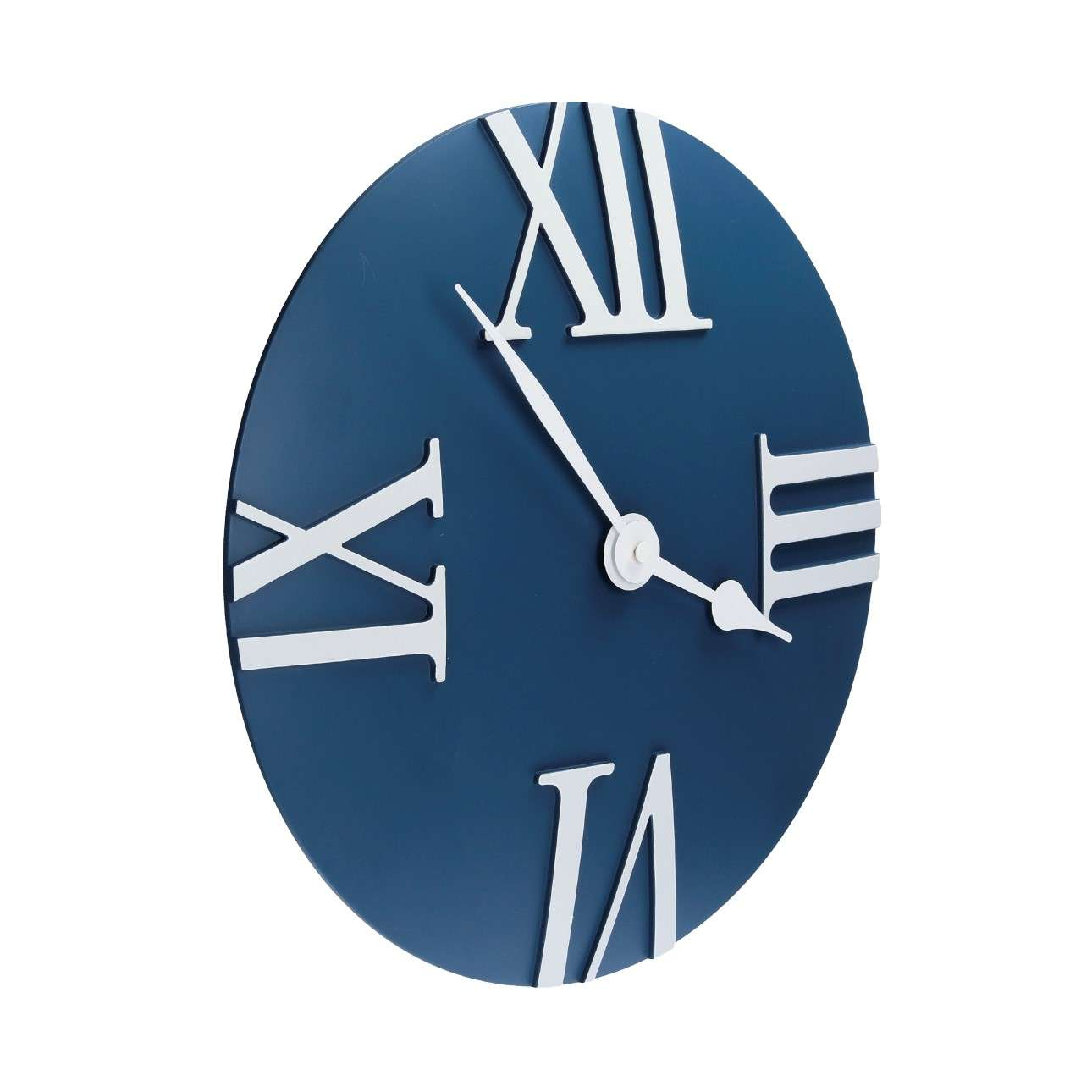 Retro blue clock