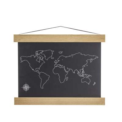 The Map chalkboard Decorations - Yellowtipi.uk
