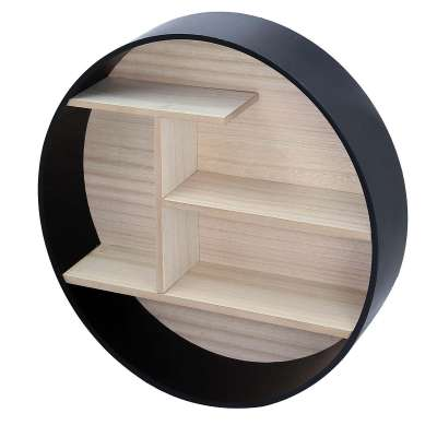 Ring black shelf