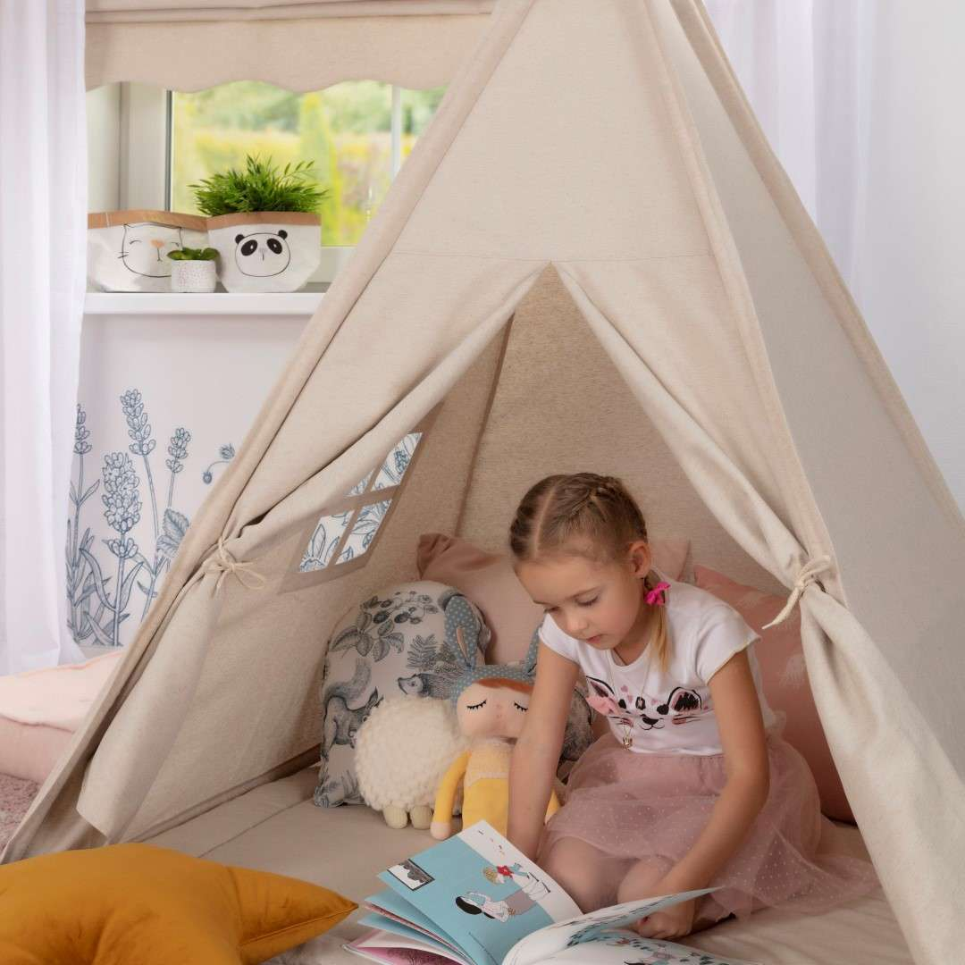 Tipi-Zelt von der Kollektion Magic Collection, Stoff: 500-22