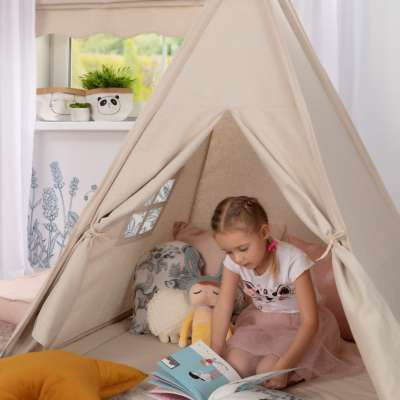 Tepee in collection Happiness, fabric: 133-65