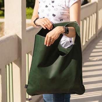 Shopper bag green