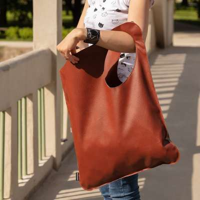 Shopper bag brown