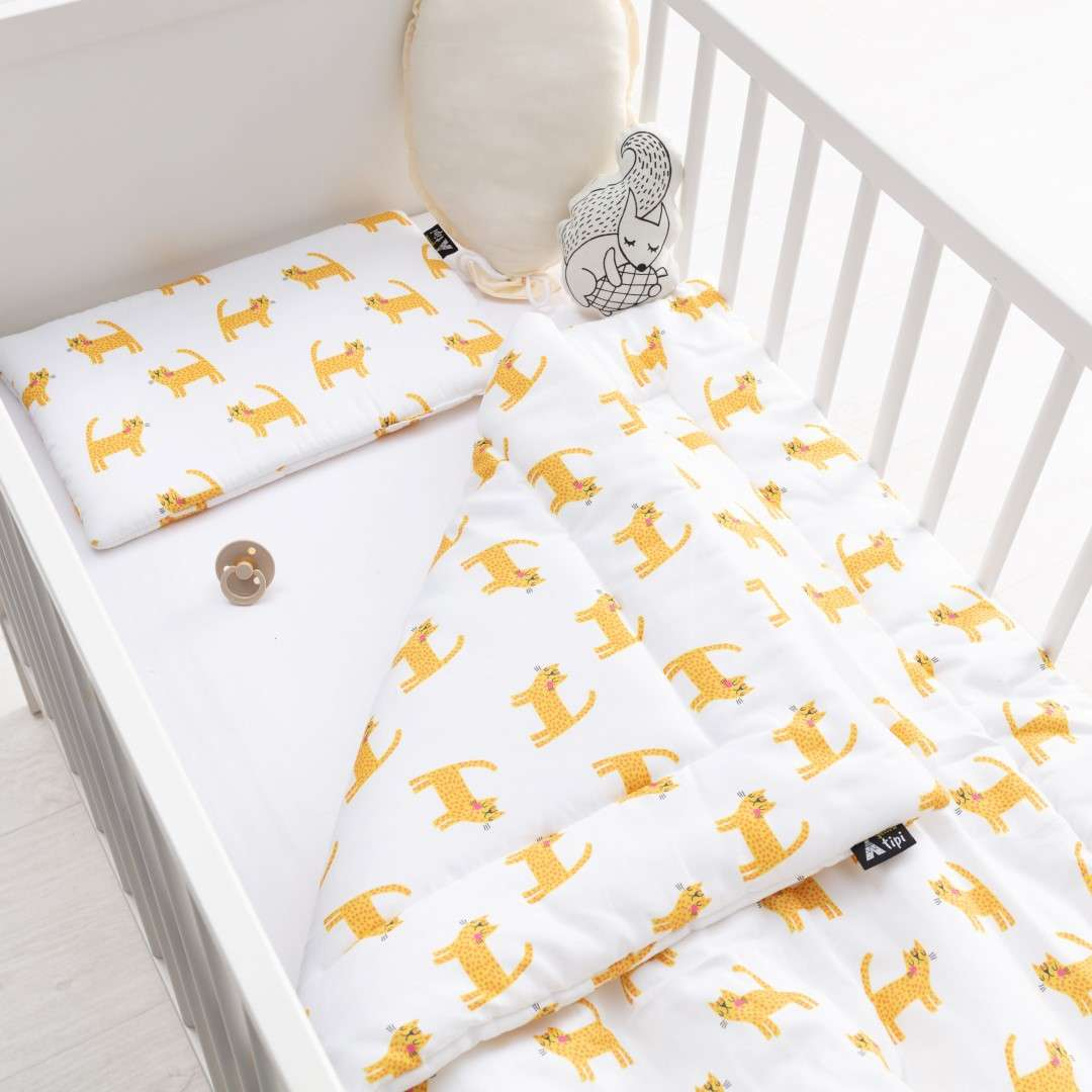 Bedding with fillings in collection Sweet Dreams, fabric: 500-33