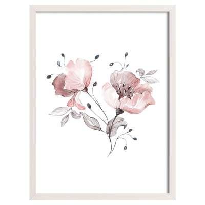 Obrázek Rose Lagoon 30x40 cm Obrazy v rámech - Yellowtipi.cz