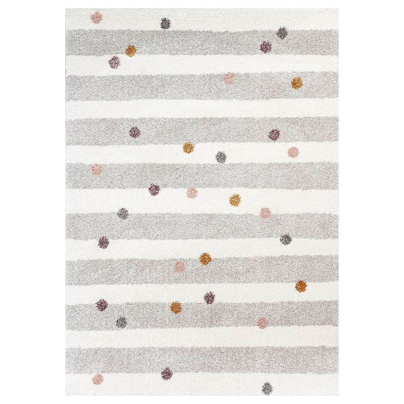 Dywan Stripes and Dots beige 160x230cm