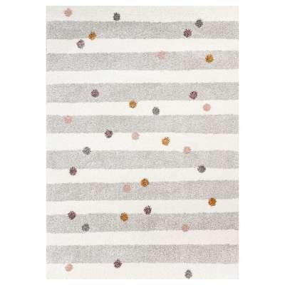 Koberec Stripes and Dots beige 120x170 cm Koberce - Yellowtipi.cz