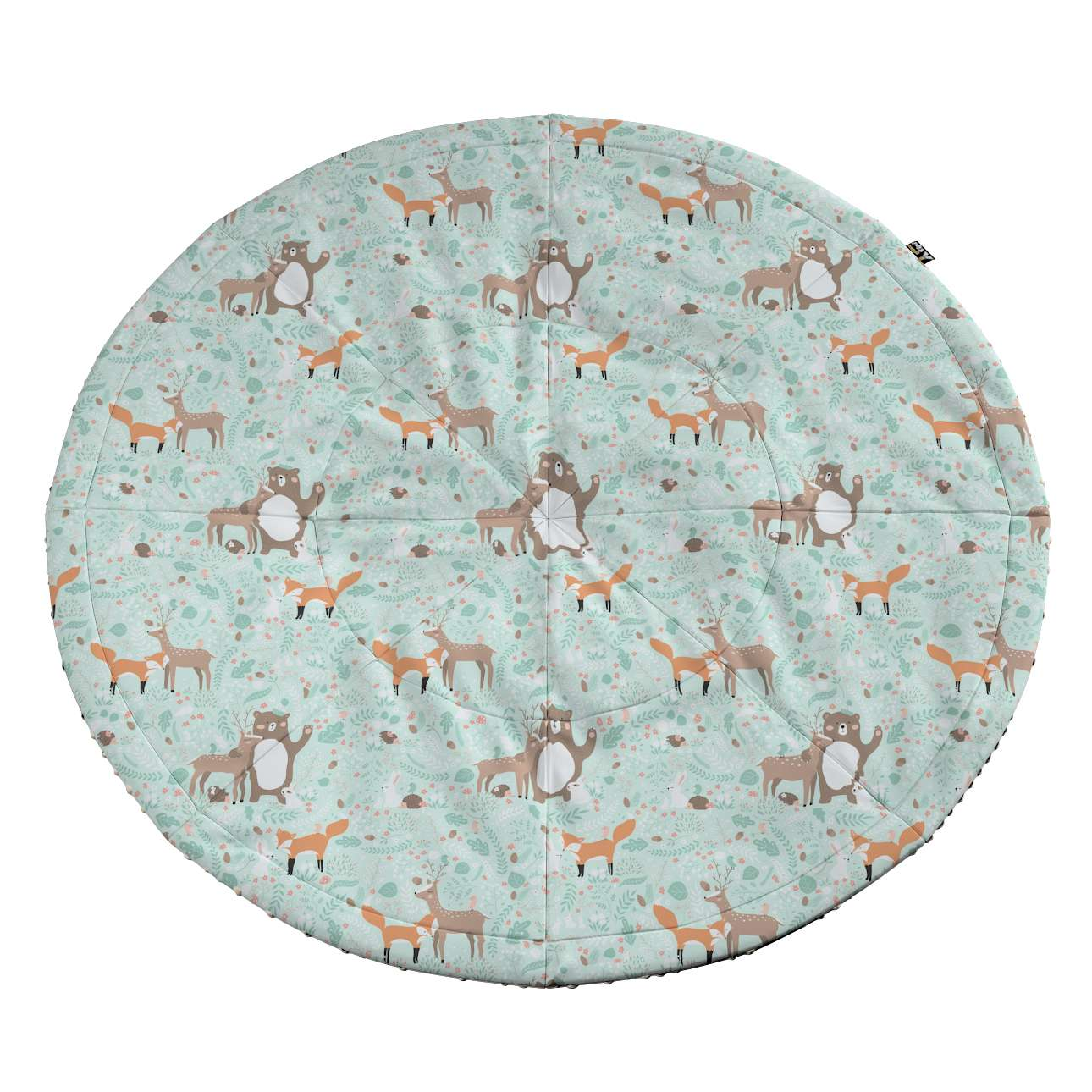 Round mat in collection Magic Collection, fabric: 500-15