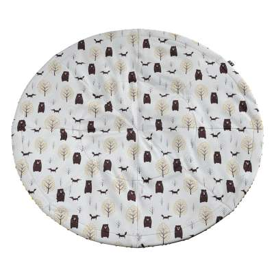 Round mat in collection Magic Collection, fabric: 500-19