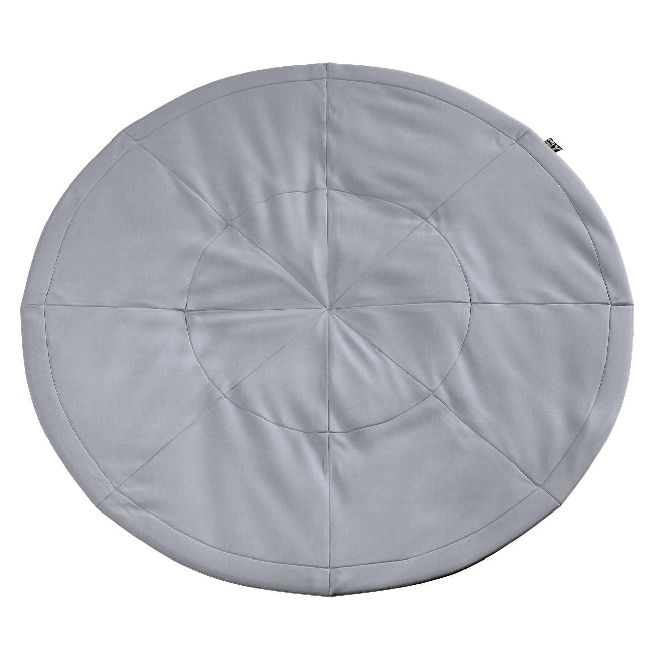 Round mat in collection Posh Velvet, fabric: 704-24