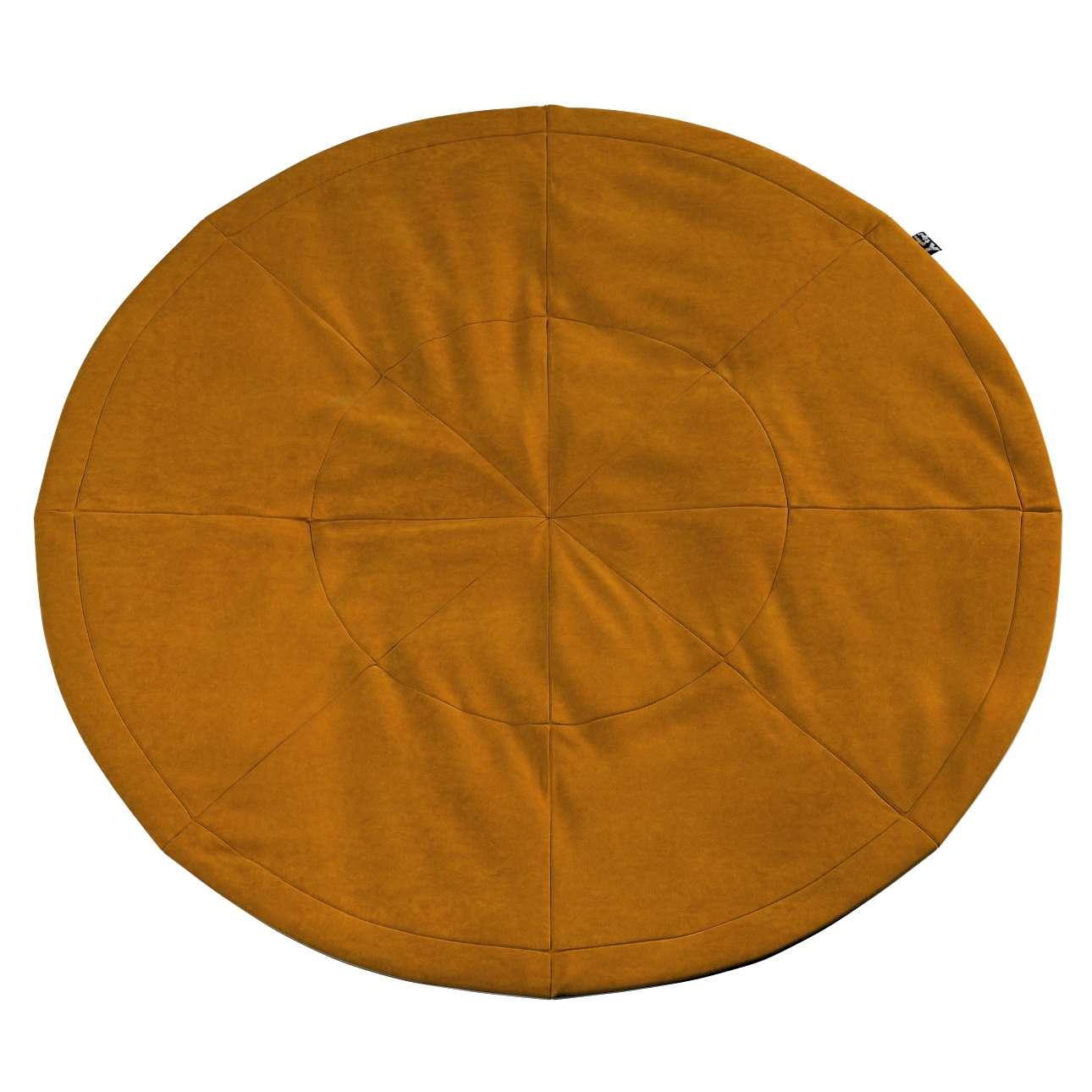Apvalus kilimėlis kolekcijoje Posh Velvet, audinys: 704-23