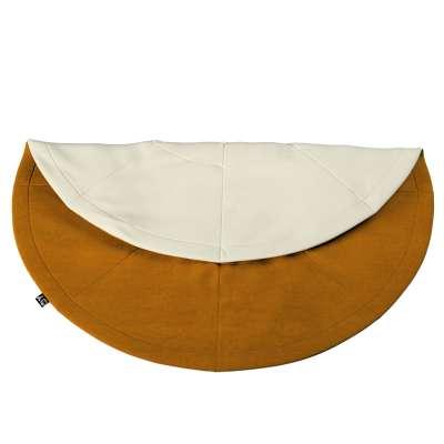 Round mat in collection Posh Velvet, fabric: 704-23