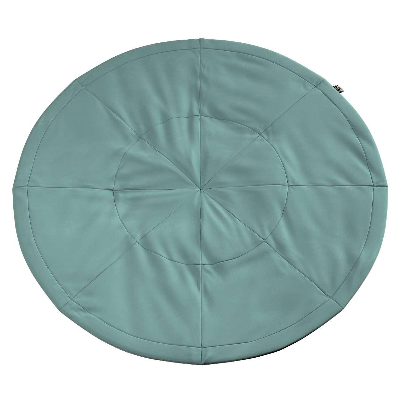 Round mat in collection Posh Velvet, fabric: 704-18