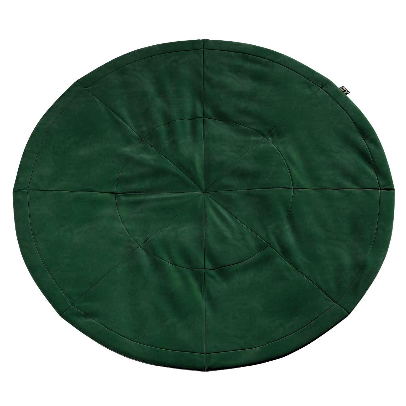 Round mat in collection Posh Velvet, fabric: 704-13
