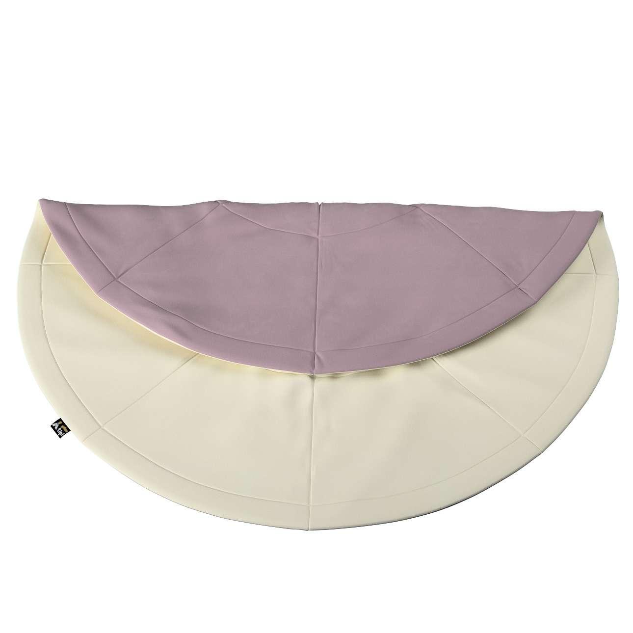 Round mat in collection Posh Velvet, fabric: 704-10
