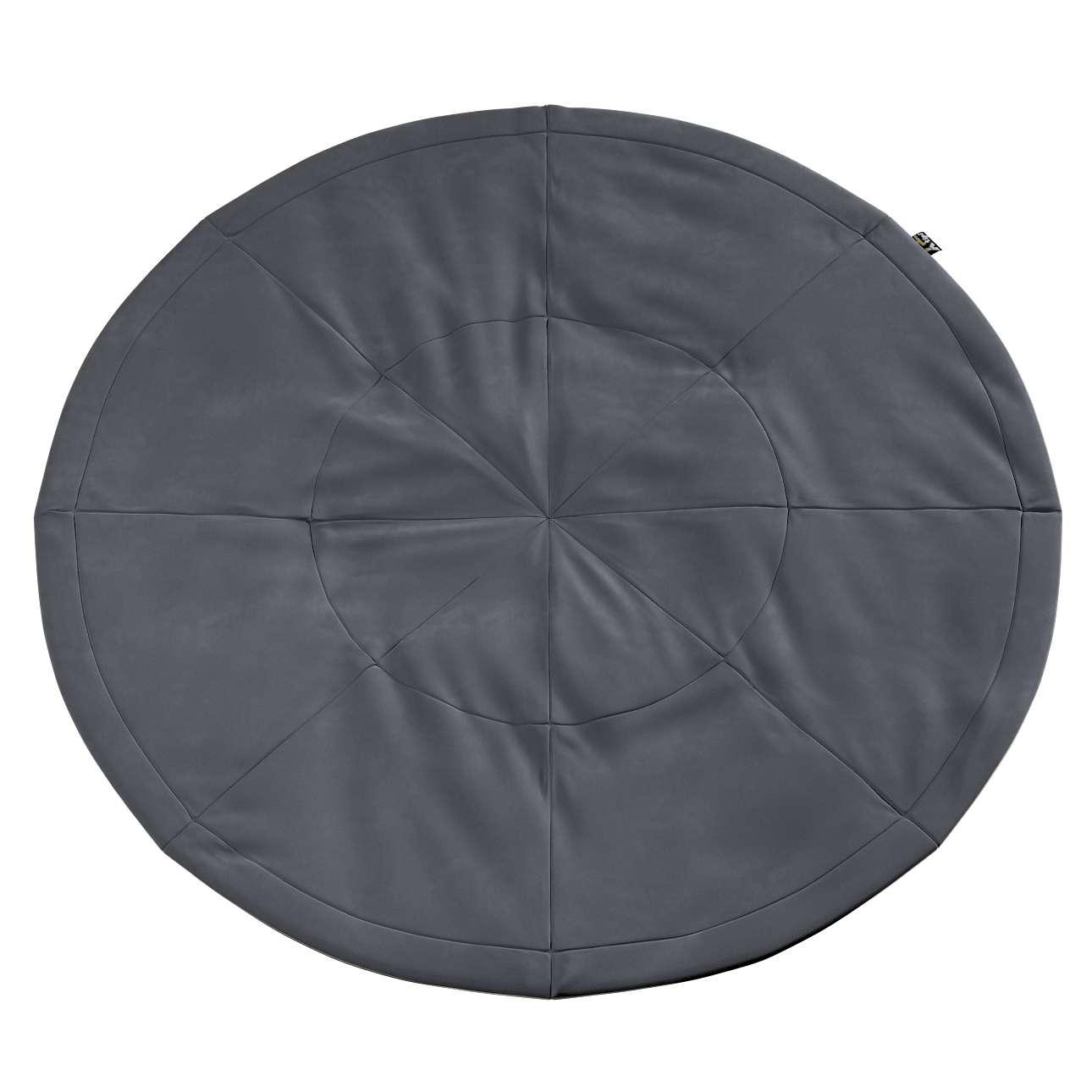 Round mat in collection Posh Velvet, fabric: 704-12