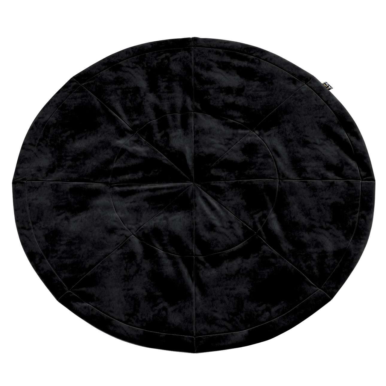Round mat in collection Posh Velvet, fabric: 704-17