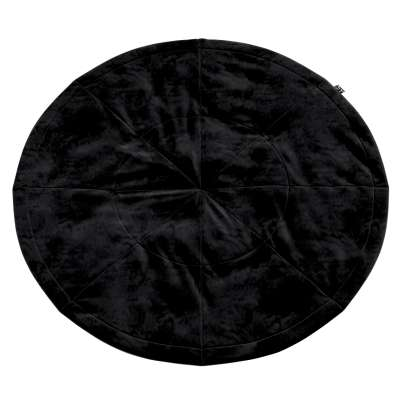 Mata okrągła 704-17 głęboka czerń Kolekcja Posh Velvet