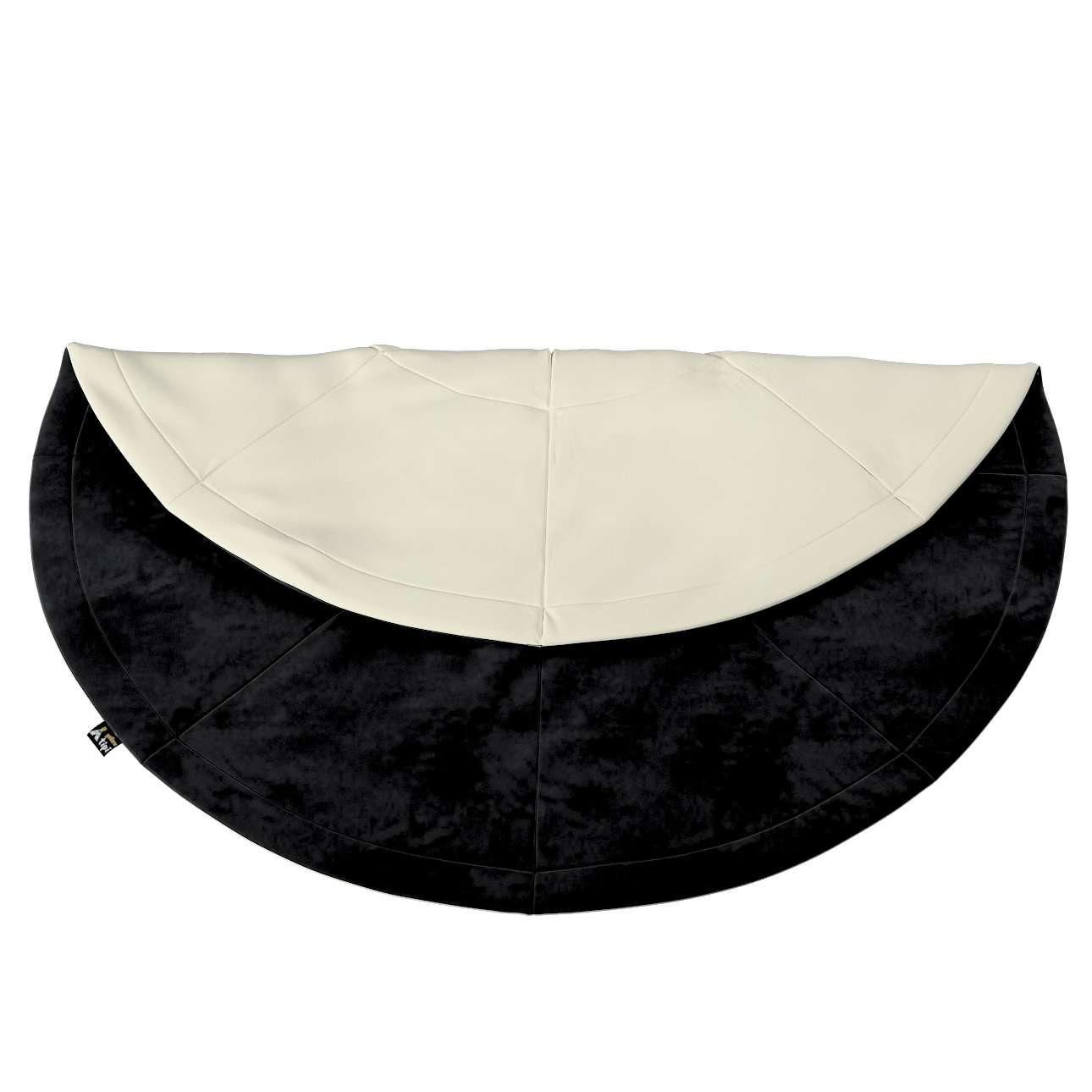 Apvalus kilimėlis kolekcijoje Posh Velvet, audinys: 704-17