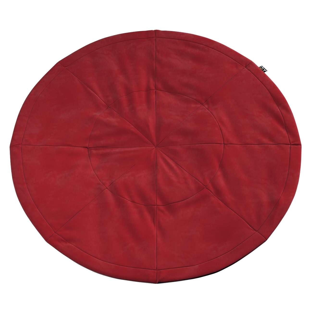Apvalus kilimėlis kolekcijoje Posh Velvet, audinys: 704-15