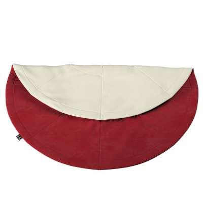 Kulatá podložka 704-15 intenzivní červená Kolekce Posh Velvet