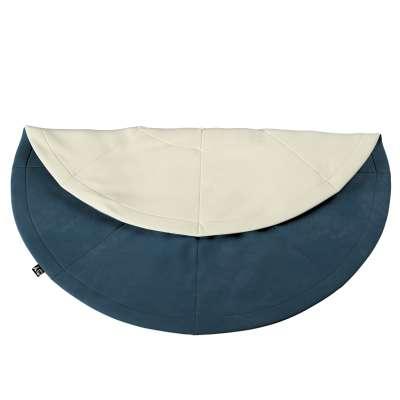 Apvalus kilimėlis 704-16 tamsi mėlyna Kolekcija Posh Velvet