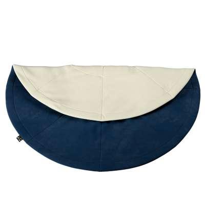 Apvalus kilimėlis 704-29 tamsi mėlyna Kolekcija Posh Velvet